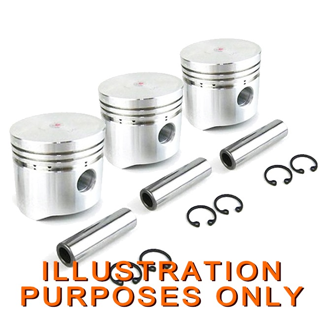 Piston Set Yanmar 3d841 Engine Excavator Aftermarket Parts