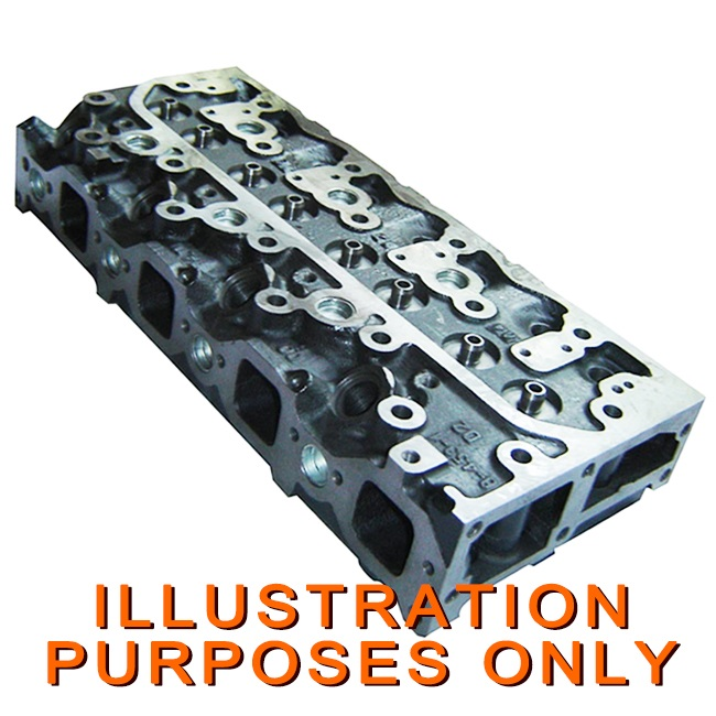 Heavy Equipment, Parts & Attachments Yanmar 3tnv88 Engine Cylinder Head Backhoe Loaders